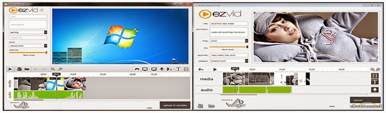 Ezvid screen recording software
