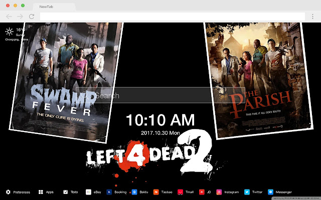 Left 4 Dead Hot Games New Tab HD Themes