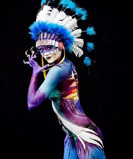Body Art Special Abstract Body Art