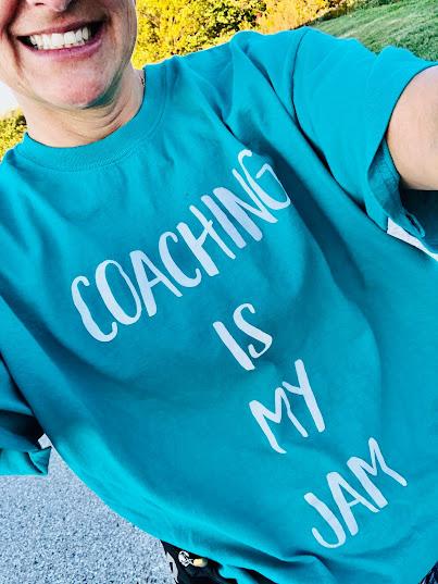 Coaching is my jam t-shirt
