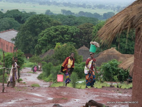 Haut-Katanga : 8000 déplacés rentrent à Pweto