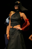 – p resentace nastavení 1 sec.ZIMA -PRINCEZNY finále Top Styl Designer 2006 UNIVERSE VERSE UNI -střih bezezbytku - společenský oděv
