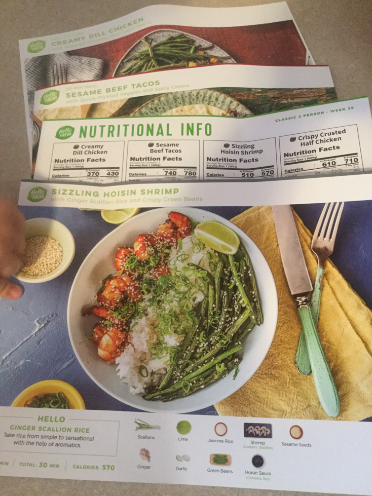 If you do stuff stuff gets done in the kitchen hello fresh hello fresh sends very easy to follow recipe cards and nutritional information forumfinder Images