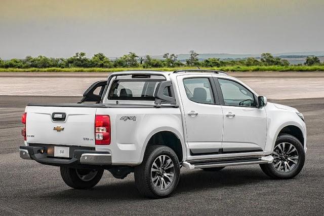 Chevrolet anuncia novas opções da S10