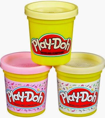 Đồ chơi Bột nặn 3 màu làm kem Play-Doh Plus trắng hồng thật bổ ích và lý thú