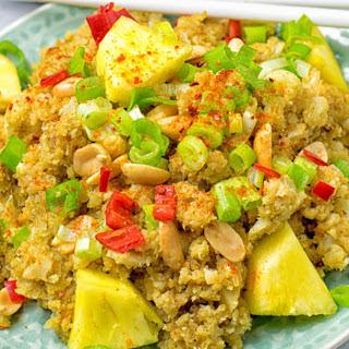 Thai Green Curry Cauliflower Rice [Vegan] Recipe