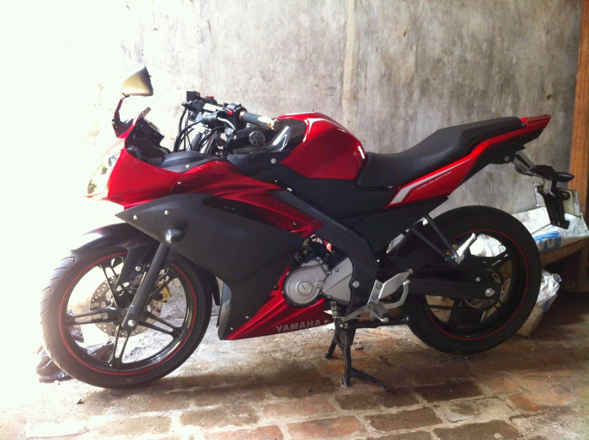 Kumpulan 48 Modifikasi Motor Vixion Model Ninja Terlengkap