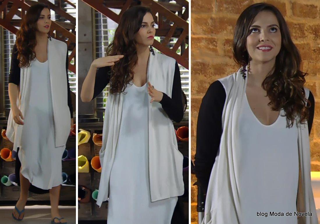 moda da novela Em Família - look da Marina