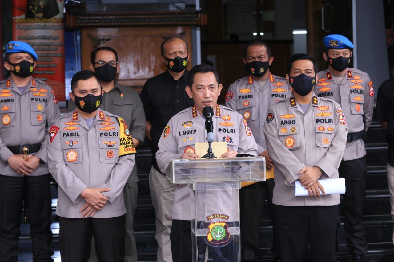 Kapolda Metro Jaya Pastikan Tangkap Rizieq Shihab