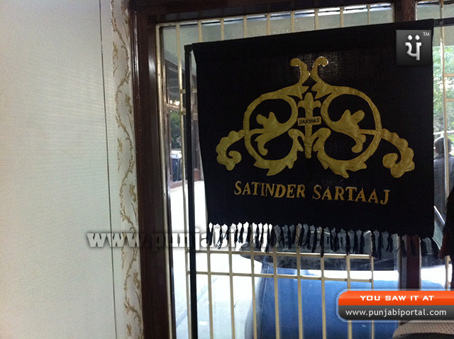 Satinder Sartaaj design sarpech
