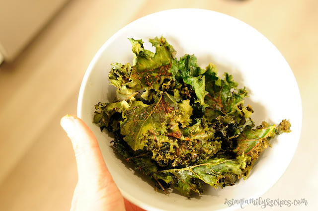 AsianFamilyRecipes: Kale Chips