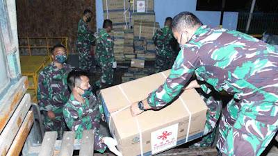 Kodam XII/Tpr Terima Bantuan Alkes dari Panglima TNI