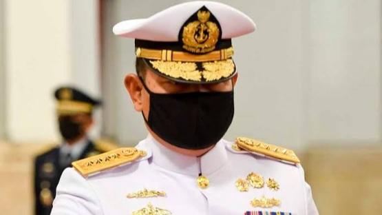 Jokowi Tunduk UU, Laksamana Yudo Margono Jadi Panglima TNI