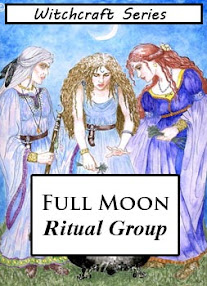 Cover of Anonymous's Book Full Moon Ritual Group