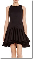 Coast Peplum Hem Dress