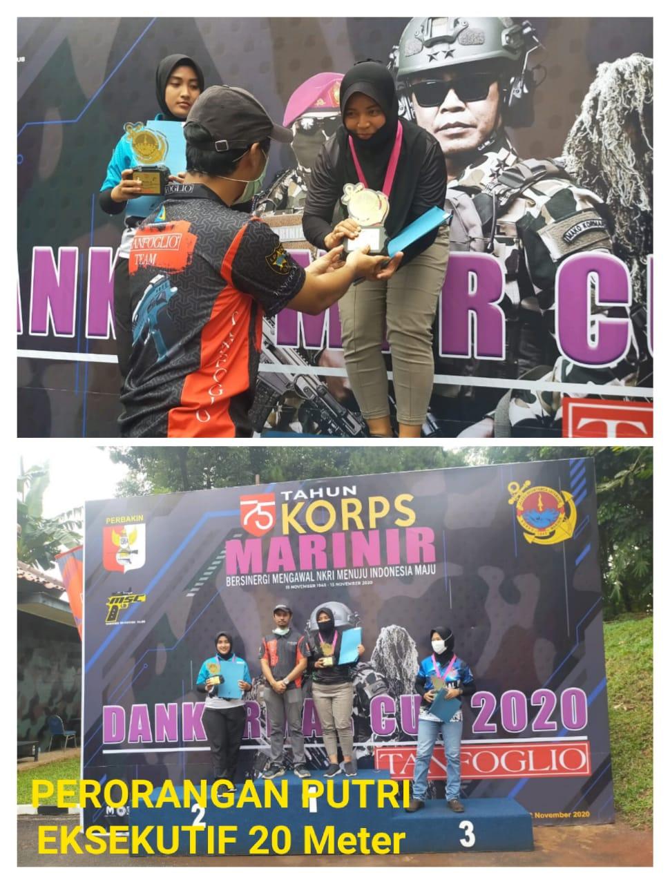 Serka (K) Anisya Harumkan Kodam III/Siliwangi Raih Juarai Lomba Tembak