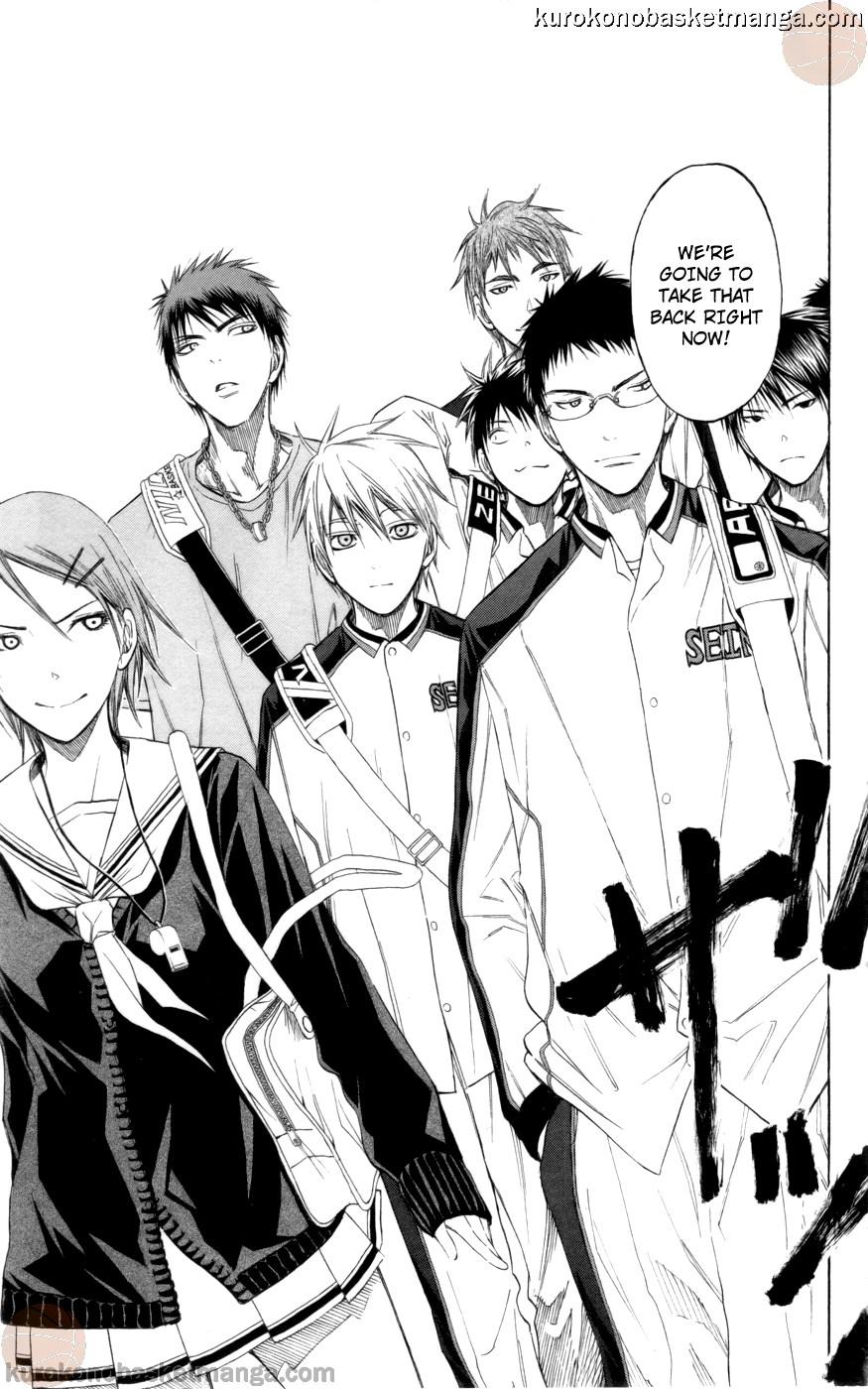 Kuroko no Basket Manga Chapter 81 - Image 11
