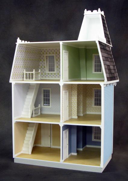 Victorian Dollhouse Colors