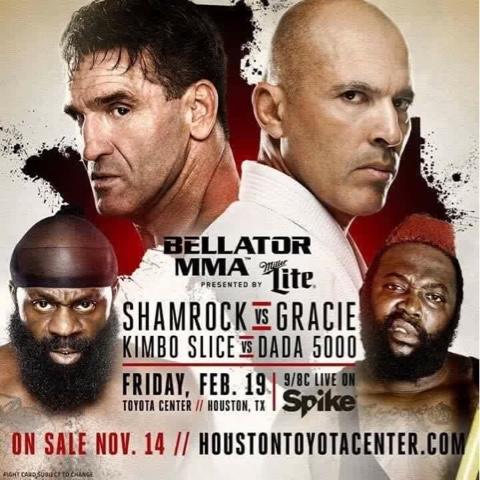 Bellator MMA Just Announced - Royce Gracie VS Ken Shamrock III