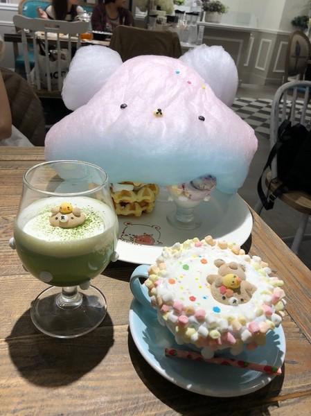 Chuju waffle 雛菊鬆餅~超萌熱氣球棉花糖鬆餅塔~少女心大爆發~尖叫聲!!創意甜點主題餐廳~