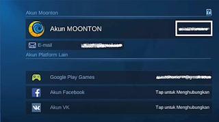 cara unbind akun moonton