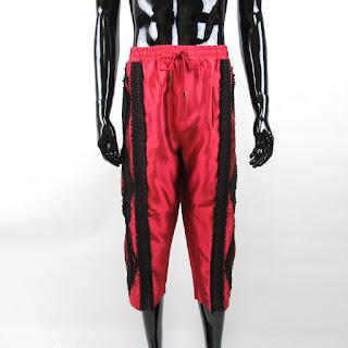 Dolce & Gabbana NEW Red/Black Trousers Sz 52