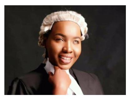 Pretty Hafsat who is visually impaired, was called to the Nigerian Bar on Wednesday November 28th