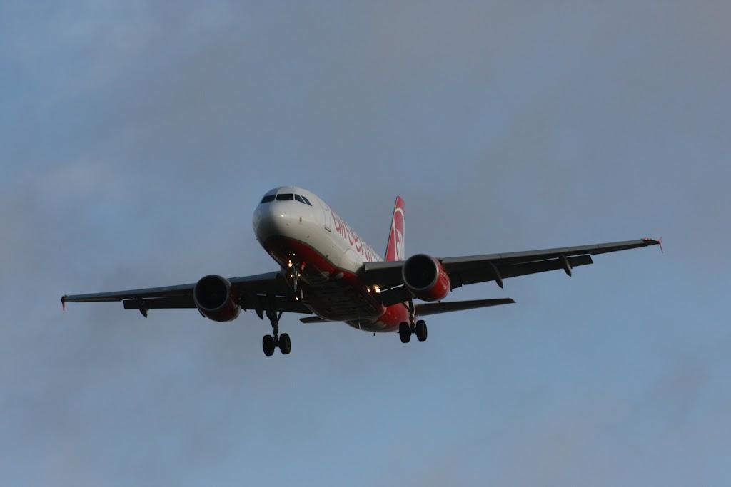 Natürlich ist Air Berlin einer der häufigsten Gäste in Tegel.