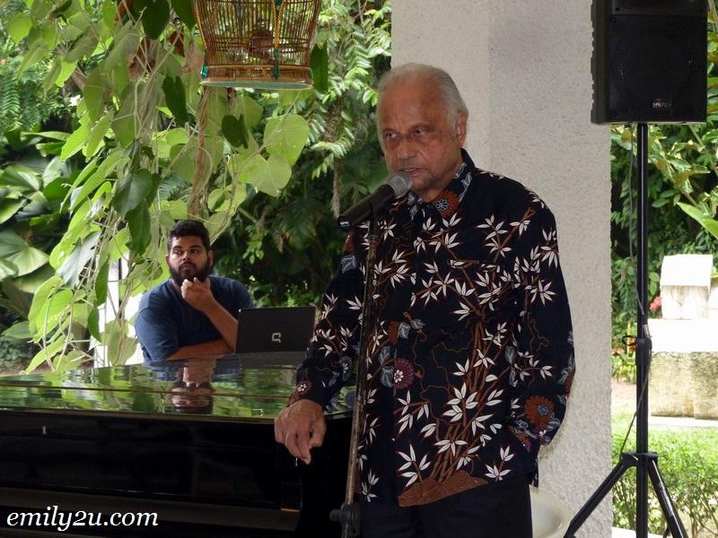 Perak Academy Lecture Dato Mahadev Shanker