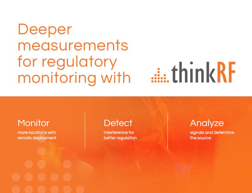 Regulatory Monitoring Solution Paper