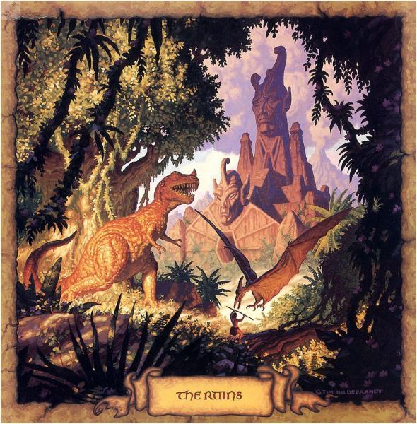 The Ruins, Fantasy Scenes 1