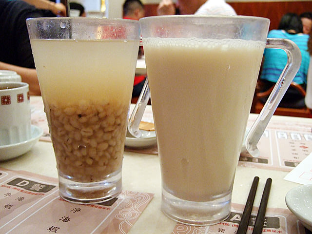 Barley and soybean drink