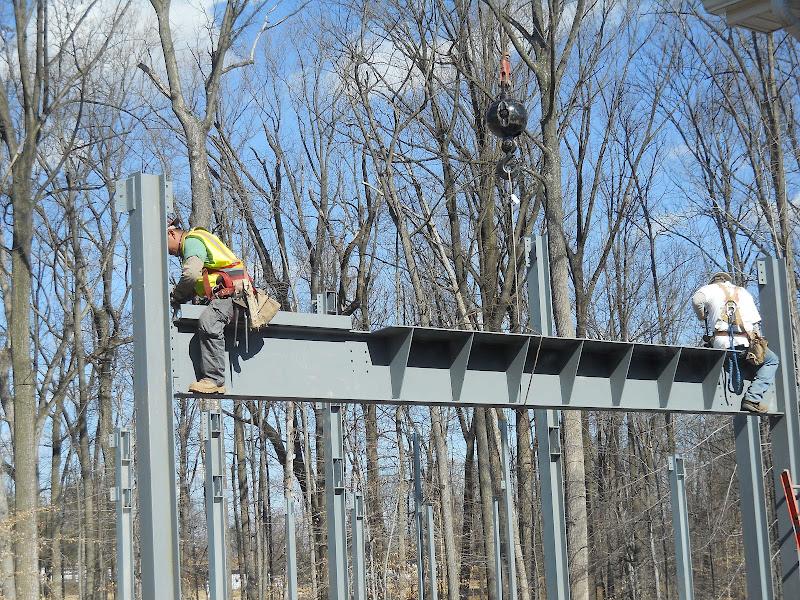Hanging steel beam 2