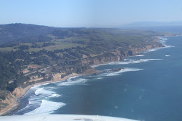 North Coast from a few thousand feet up.