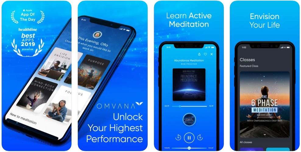 Omvana - Get In Flow- Meditation & High Performance