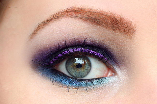 make up smokey eyes with lime crime orchidaceous. Black Bedroom Furniture Sets. Home Design Ideas