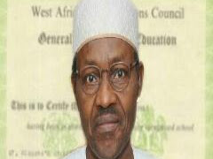 Only Jobless People Discuss Buhari's Certificate - Presidency
