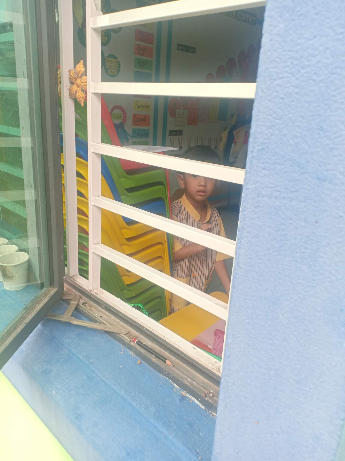 Hari Pertama Zeref Rayyan Ke Sekolah