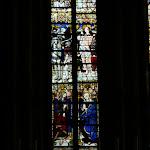 Collégiale Saint-Martin : vitraux du choeur