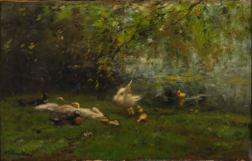 Willem Maris - Duck heaven - Google Art Project.