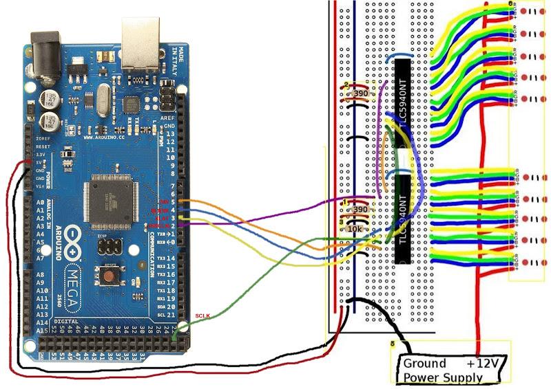 Ambilight con Arduino, Adalight, WS2801, XBMC y boblight