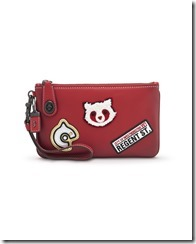Coach - 57638 - Regent Street Exclusive - Varsity Patches Turnlock Wristlet 21 -235GBP