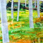 Birkenwald nach Gustav Klimt