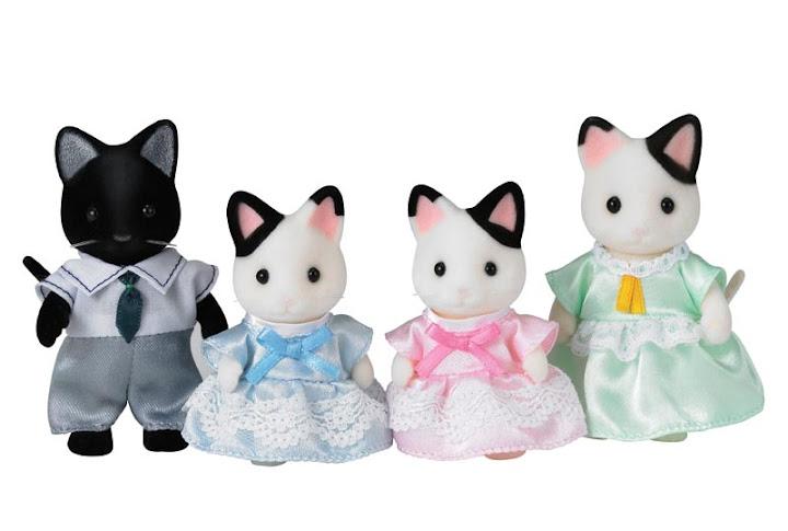 Contenido real de Familia Gatos Esmoquin