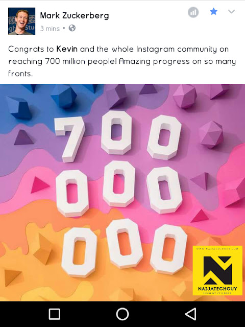 Instagram Hits New Milestone : 700 Million Active Users 1