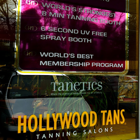 A Hollywood Tans store in New York