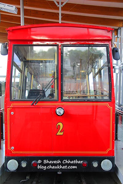 Wellington Cable Car number 2