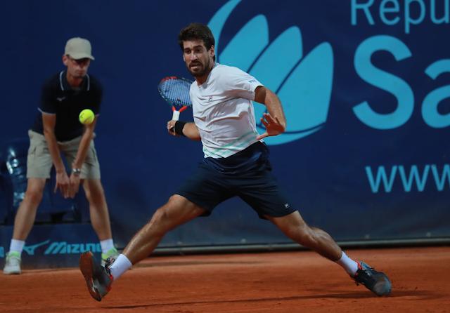Orlando Luz na final do San Marino Open 2021