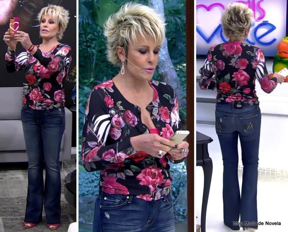 moda do programa Mais Você - look da Ana Maria Braga dia 20 de maio