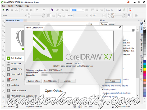 key corel draw x7